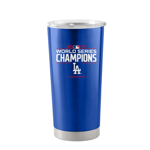 Los Angeles Dodgers 2020 World Series Champions 20 oz. Stainless Tumbler Travel Beverage Coffee Mug