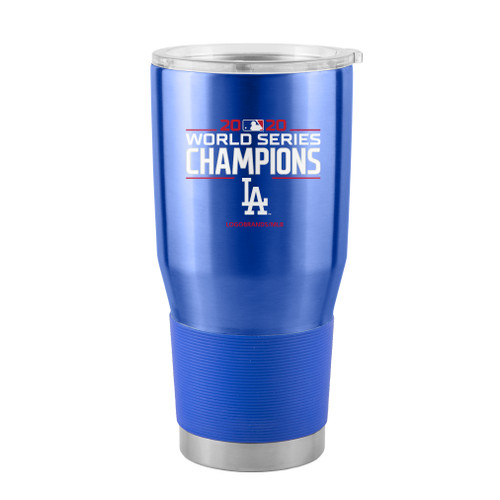 Los Angeles Dodgers 2020 World Series Champions 30 oz. Curved Ultra Tumbler
