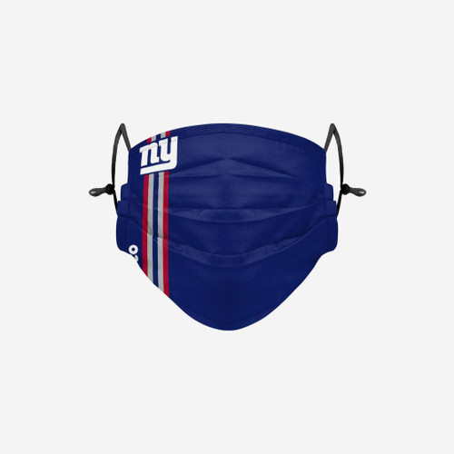New York Giants NFL Official On-Field Sideline Logo Team Face Mask Cover Facemask