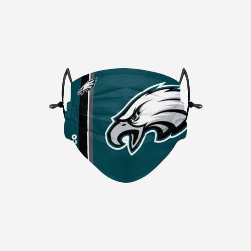 Philadelphia Eagles NFL Official On-Field Sideline Logo Team Face Mask Cover Facemask