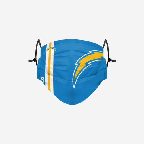 Los Angeles Chargers NFL Official On-Field Sideline Logo Team Face Mask Cover Facemask