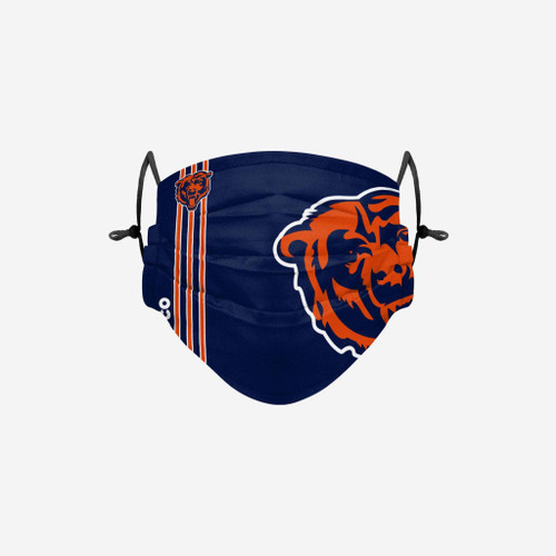 Chicago Bears NFL Official On-Field Sideline Logo Team Face Mask Cover Facemask