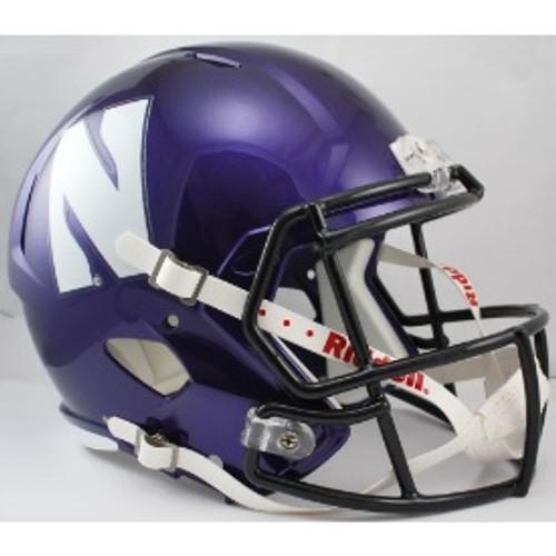 Northwestern Wildcats NCAA SPEED Riddell Full Size Replica Football Helmet