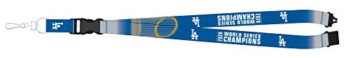 Los Angeles Dodgers 2020 World Series Champions MLB Detachable Lanyard