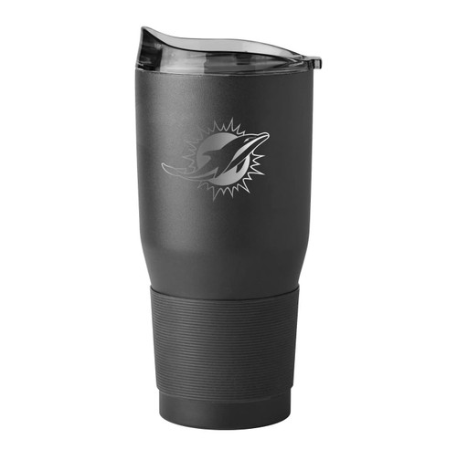 Miami Dolphins NFL 30 oz. Premium Powder Coat Ultra Insulated Tumbler Cup