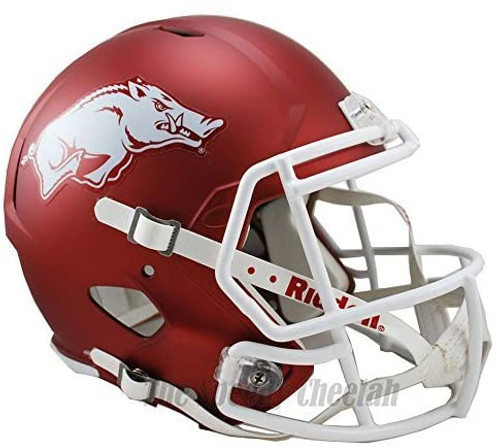 Arkansas Razorbacks SPEED Riddell Full Size Replica Football Helmet