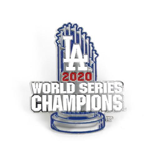 2020 Los Angeles Dodgers World Series Champions Diestruck Trophy Lapel Pin