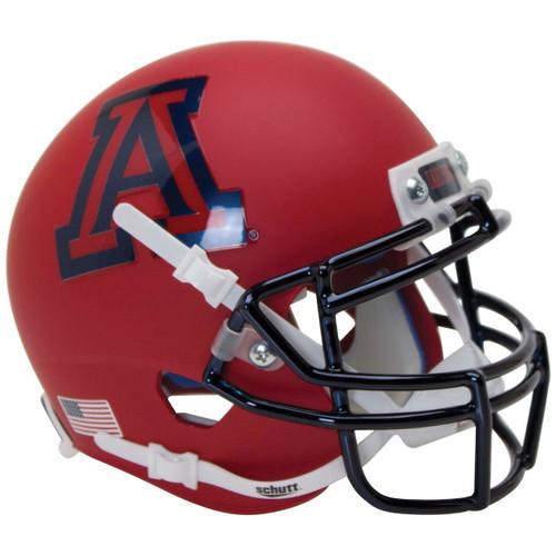 Arizona Wildcats Alternate Matte Scarlet Schutt Full Size Replica Football Helmet