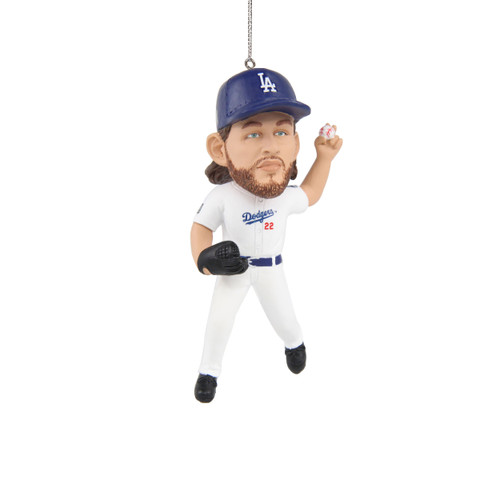 Clayton Kershaw Los Angeles Dodgers 2020 World Series Champions Player Resin Ornament