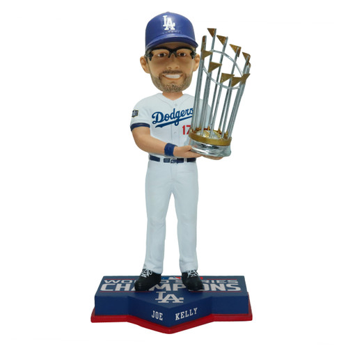"Joe Kelly Los Angeles Dodgers 2020 World Series Champions 8"" Bobblehead Bobble Head Doll"
