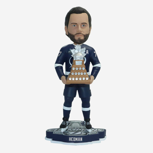 "Victor Hedman Tampa Bay Lightning 2020 Stanley Cup Champions 10"" MVP Player Bobblehead Doll"