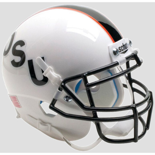 Oklahoma State Cowboys Black OSU Schutt Mini Authentic Football Helmet