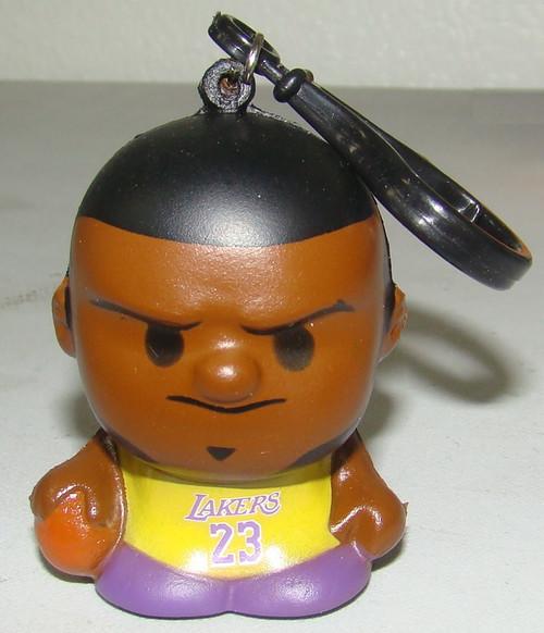Los Angeles Lakers Lebron James #23 NBA Series 1 SqueezyMates Figurine
