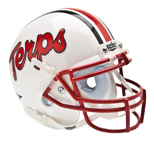 Maryland Terrapins Schutt Mini Authentic Helmet