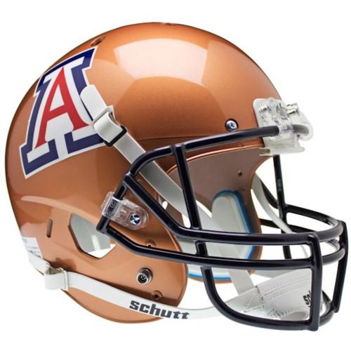 Arizona Wildcats Copper Schutt Full Size Replica Football Helmet