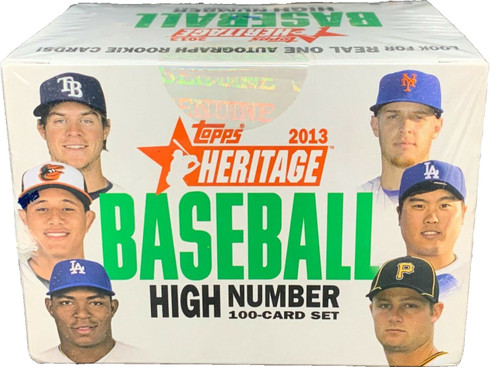 2013 Topps Heritage Baseball High Number Update Set