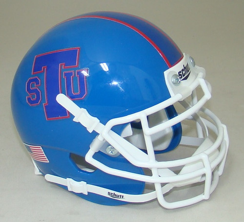 Tennessee State Tigers Alternate Blue Schutt Mini Authentic Football Helmet
