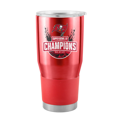 Tampa Bay Buccaneers Super Bowl LV Champions 30 oz. Curved Ultra Tumbler