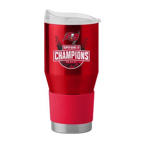 Tampa Bay Buccaneers Super Bowl LV Champions 24 oz. Stainless Tumbler Travel Mug