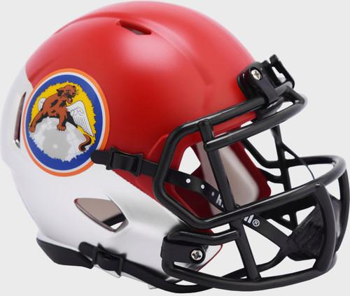 Air Force Falcons Tuskegee 100th Limited Edition NCAA Mini Speed Football Helmet