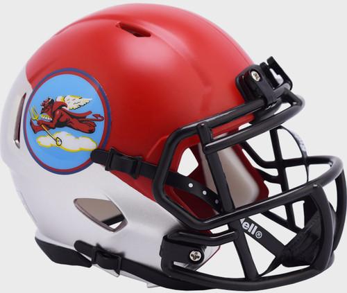 Air Force Falcons Tuskegee 302nd Limited Edition NCAA Mini Speed Football Helmet