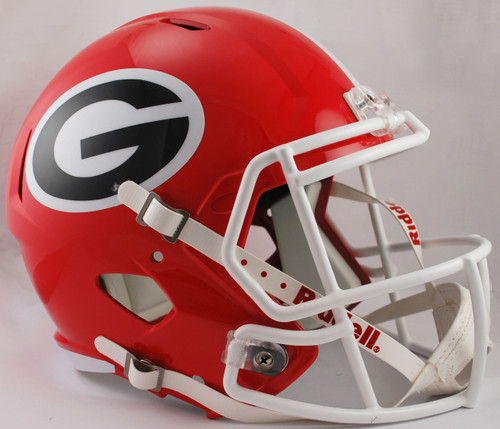 Georgia Bulldogs SPEED Riddell Full Size Replica Football Helmet