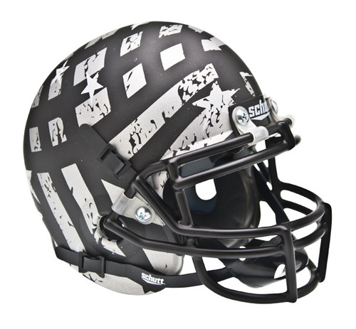 South Florida Bulls Alternate Wounded Warrior AquaTech Schutt Mini Authentic Helmet