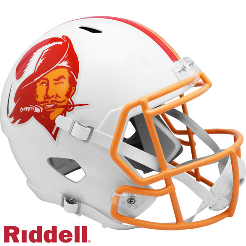 Tampa Bay Buccaneers 1976-96 Throwback SPEED Riddell Full Size Replica Football Helmet