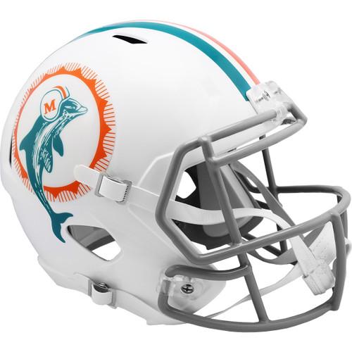 Miami Dolphins 1972 Throwback SPEED Riddell Full Size Replica Football Helmet