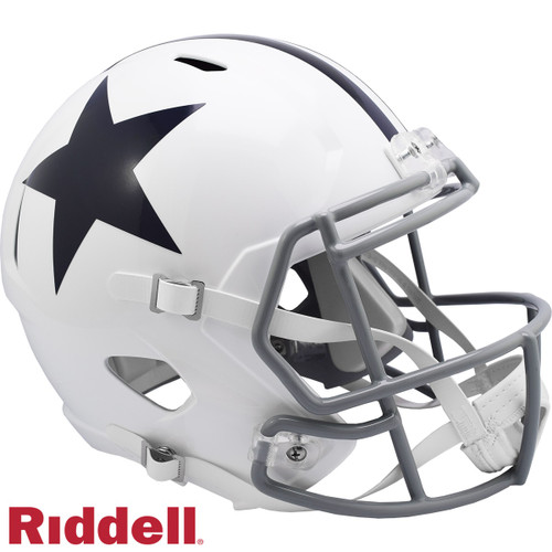 Dallas Cowboys 1960 to 1963 Throwback SPEED Riddell Full Size Replica Football Helmet