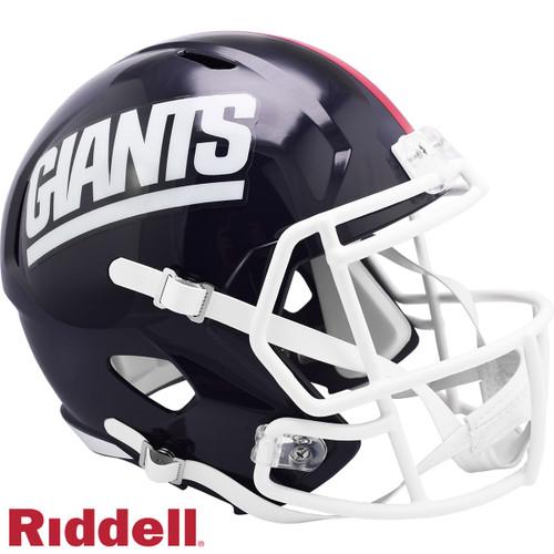 New York Giants 1981-99 Throwback SPEED Riddell Full Size Replica Football Helmet