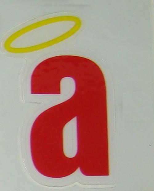 Anaheim California Angels FULL SIZE HELMET 3M STICKER DECAL - Little a