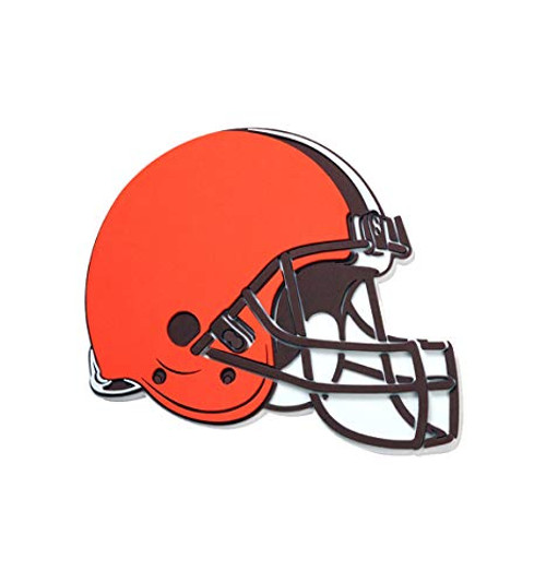 NFL Cleveland Browns Helmet 3D Fan Foam Logo Sign