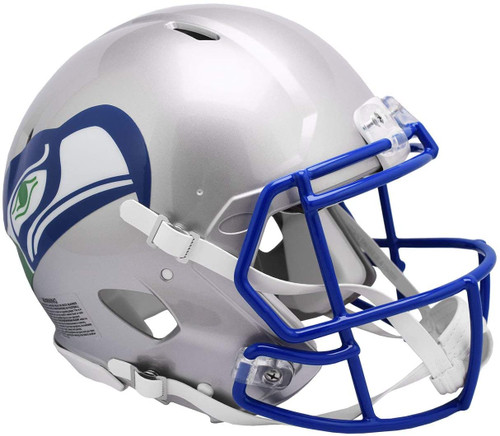 Seattle Seahawks 1983 - 2001 Throwback SPEED Riddell Full Size Replica Football Helmet