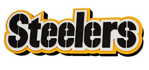 Pittsburgh Steelers (Steelers) 3D Fan Foam Logo Sign