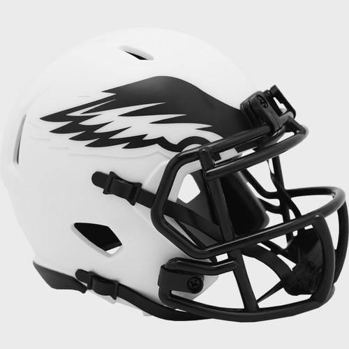 Philadelphia Eagles Lunar White Revolution Speed Mini Football Helmet