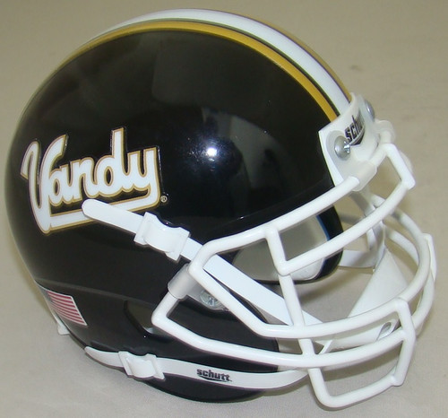 Vanderbilt Commodores Vintage Vandy Schutt Authentic Mini Football Helmet