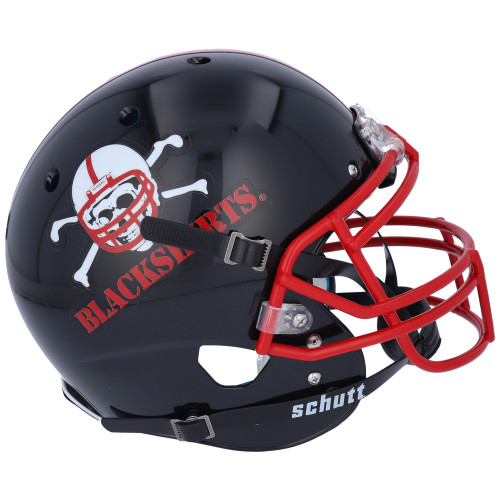 Nebraska Cornhuskers Blackshirts Alternate Schutt Mini Authentic Football Helmet