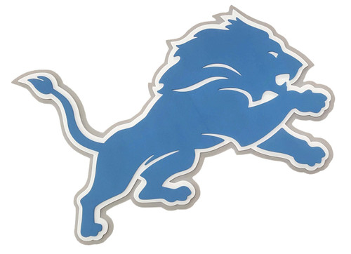 Detroit Lions 3D Fan Foam Logo Sign