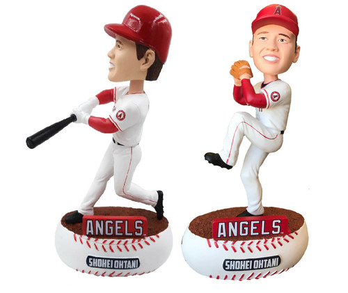 "Shohei Ohtani Los Angeles Angels MLB Bobblehead 8"" Bobblehead Bobble Head Doll Set"