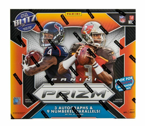 2017 Panini Prizm Football Hobby Jumbo Box