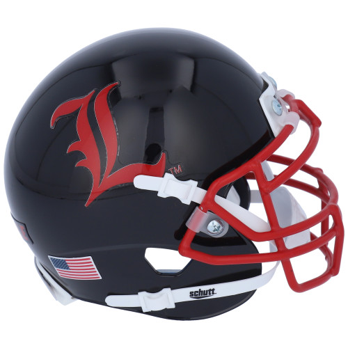 Louisville Cardinals The Ville Alternate Schutt Mini Authentic Football Helmet