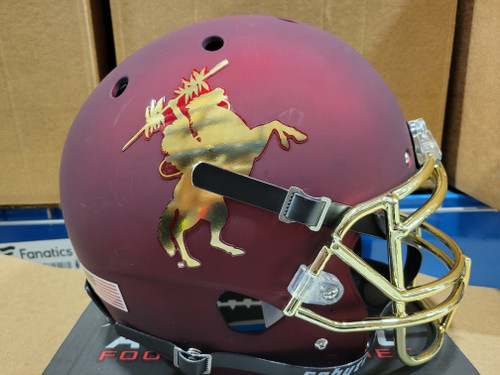Florida State Seminoles UNCONQUERED Alternate Schutt Mini Authentic Football Helmet