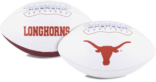 Signature Series NCAA Texas Longhorns Autograph Full Size Football