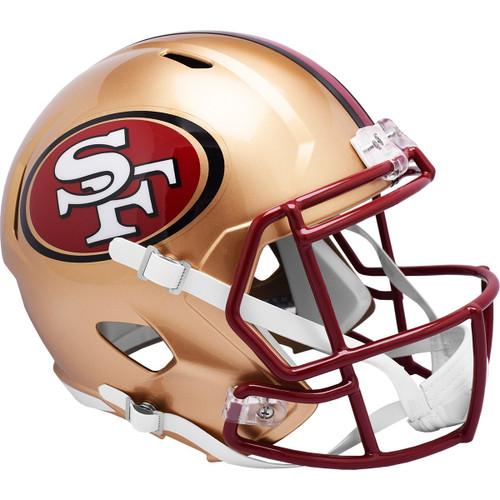 San Francisco 49ers 1996-2008 Throwback SPEED Replica Full Size Football Helmet