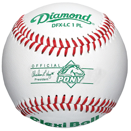 Diamond DFX-LC1 PL (Dozen) Pony Leage Low Compression Level 1 Tee Ball Baseballs