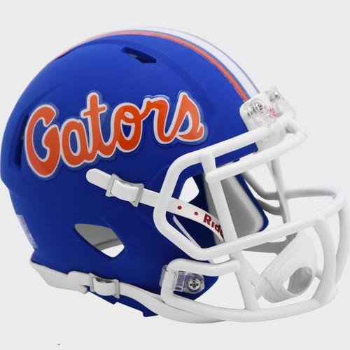Florida Gators Matte Blue 2021 Revolution SPEED Mini Football Helmet