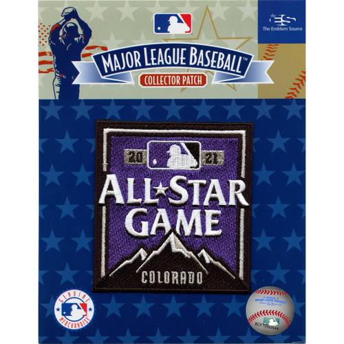 2021 Major League Baseball All Star Game MLB Collectors Patch - Colorado Rockies Stadium