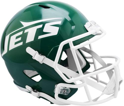 New York Jets 1978-1989 Throwback SPEED Riddell Full Size Replica Football Helmet