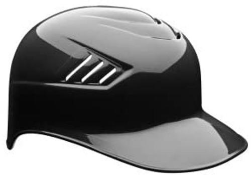 Navy Blue No Ear Covered Base Coach Catchers Baseball Helmet Size 7 1/4